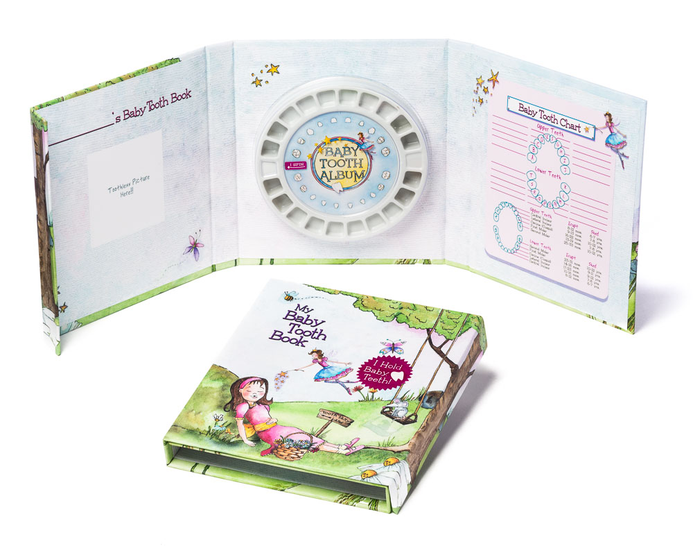 Baby Tooth Flapbook 24 Carton Baby Gifts Baby Tooth Fairy