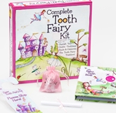 Complete Tooth Fairy Kit--Fairyland Collection-Pink-12/Carton Baby Tooth Album, baby tooth, tooth fairy, fairyland, baby teeth, loose baby tooth, tooth fairy, keepsake, keepsake box, tooth fairy keepsake box, toothless smile