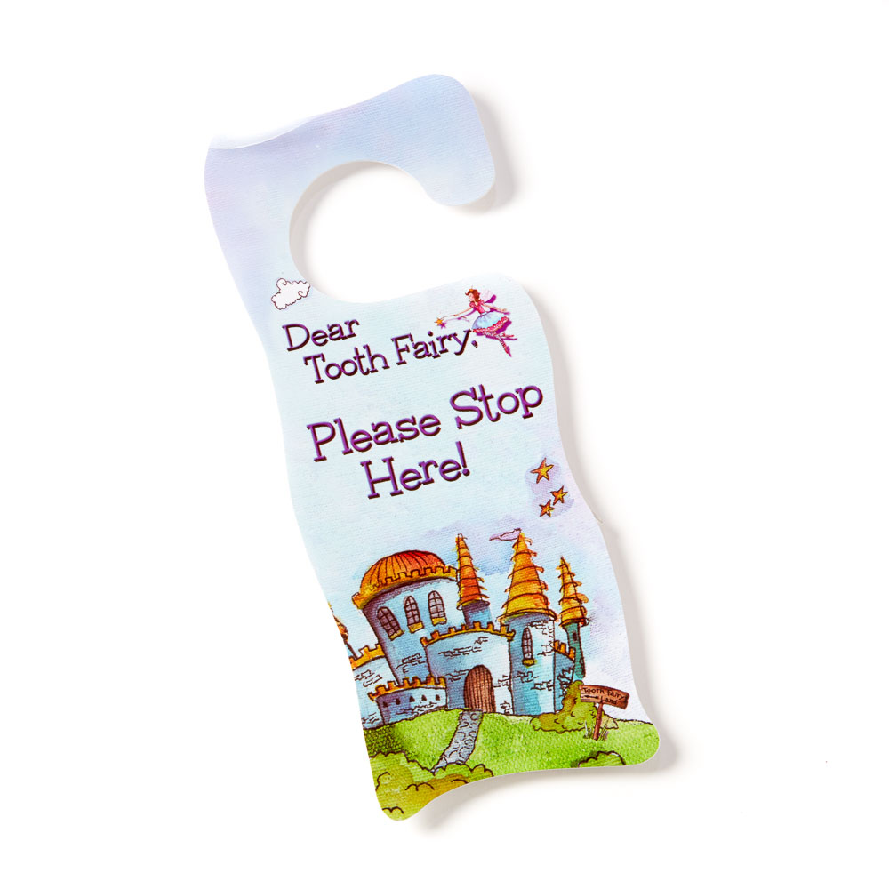 Tooth Fairy Door Hanger - Blue - 26190 ...  sc 1 st  Baby Tooth Album : toothfairy door - pezcame.com