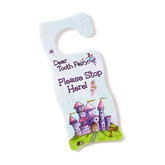 Tooth Fairy Door Hanger - Pink Gifts, Tooth Fairy, Keepsakes, Tooth Fairies, Losing Baby Teeth,Gift Collection,Baby Tooth Flapbook,Baby Tooth Album