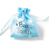 Baby Tooth Pouch - Blue Gifts, Tooth Fairy, Keepsakes, Tooth Fairies, Losing Baby Teeth,Gift Collection,Baby Tooth Flapbook,Baby Tooth Album